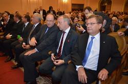 Віце-прем'єр міністр України Костянтин Грищенко та міністр культури Польщі Богдан Здроєвський