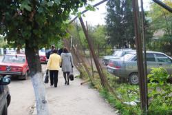 Одна з вулиць Самбора