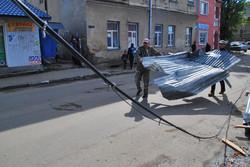 Повернення блудного даху Самбірського ринку