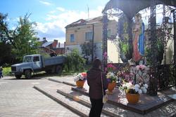 На вулиці Церковній