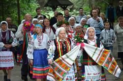 Учасники колективу «Криниця» із села Видирта Камінь-Каширського району Волині