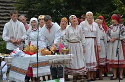 Учасники колективу «Крименя» із села Кримне Старовижівського  р-ну, Волині