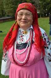 Ліда Середа, керівник колективу «Кумасі» із села Чагів, Оратівського району Вінниччини