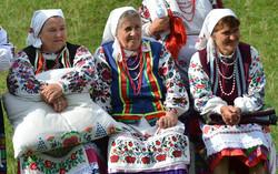 Жінки з із села Видирта Камянко-Каширського району