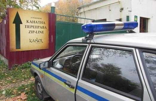 У Львові  дітей катають на небезпечному для життя атракціоні!