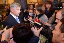 На Хеловін і під вигуки «Ганьба!» Львівщині представили нового губернатора Олега Сала