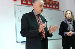 Керол Бейлі розповів львівським студентам, як досягти успіху