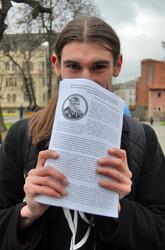 Пікет студентів проти Сала