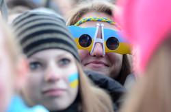 Фоторепортаж із шостого дня Євромайдану у Львові