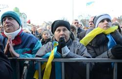 На львівському Євромайдані помолилися за Україну та весь народ (ФОТО, ВІДЕО)