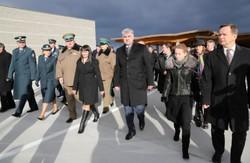 На Львівщині нарешті відкрили новий міжнародний митний пункт «Грушів-Будомєж».  Без  президента