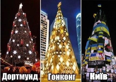 Головну ялинку Львова прикрасять символікою Євросоюзу