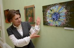 відкрилася виставка картин намальованих неповносправними дітьми