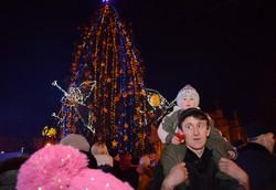 У Львові урочисто відкрили новорічну ялинку-антийолку (ФОТО, ВІДЕО)