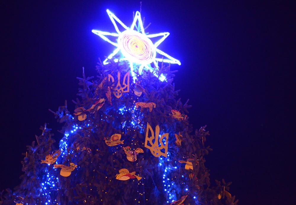 новорчіно-різдвяне дерево