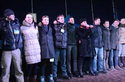 На львівському Євромайдані створено молодіжний рух  за європейські перетворення  (ФОТО)