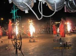 Вогняне шоу Львіського Академічного театру «Воскресіння»