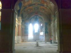 У галицькому селі, яке пам'ятає Швейка, руйнується  церква з чудовими художніми розписами