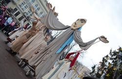 Вулична вистава «Різдвяна феєрія» від театру «Воскресіння»