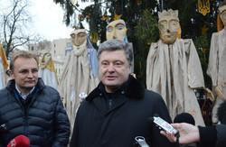 Петро Порошенко на львівському Майдані: ліміт національного терпіння вичерпано