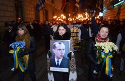 У Львові прийшов смолоскипний марш з нагоди 105-ї річниці Степана Бандери