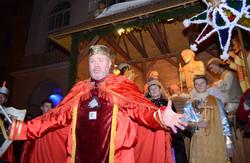 Політичні вертепи у Львові відправляють Ірода-Януковича до пекла (ВІДЕО)