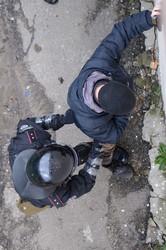 """Харків, 11 січня: на  Форум Євромайданів  нападають """"тітушки"""". Спецпідрозділ """"Грифон""""  зупиняє бешкетників"""