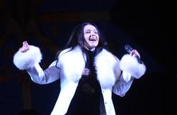 На Львівському Євромайдані зустрічали Старий Новий рік з танцями і кулішем (ВІДЕО)