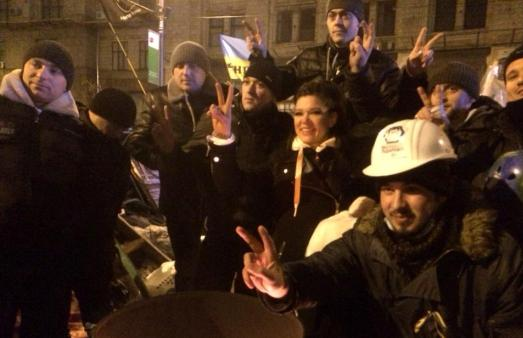 Руслана готує мітинг під стінами Європарламенту з вимогою санкцій проти злочинних дій влади в Україні