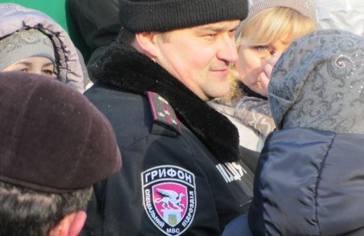 Львів'яни заблокували спецпідрозділ «Грифон» у психлікарні