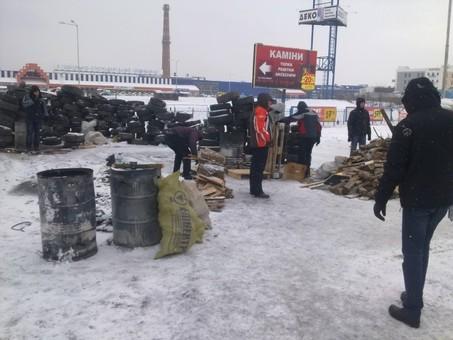 """У Львові мітингувальники заблокували роботу двох """"Епіцентрів"""""""