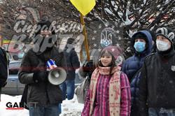 Студенти пікетували прокуратуру Львівської області