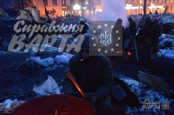 Протестувальники на вулиці Грушевського готові стояти до кінця (ФОТО)