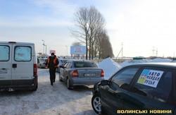 Волинські активісти вирушили Автомайданом по районах області