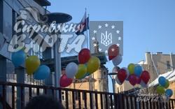 Львів'яни подякували полякам за підтримку та солідарність з Україною (ФОТО, ВІДЕО)