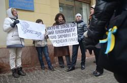У Львові пікетували митницю за блокування гуманітарної допомоги Майдану (ФОТО)