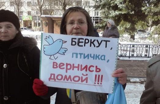 """Житомир:  """"Беркут, птичка, вернись домой""""  і  тиск на бізнес регіоналів"""