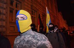 У Львові «Правий сектор» привітав генконсула Росії з відкриттям Олімпіади (ФОТО)