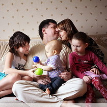 Яке сімейне життя характерне для міст України