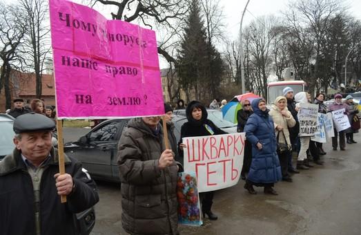 Мешканці прилеглих до Львова сіл можуть залишись без земельних паїв (ФОТО)