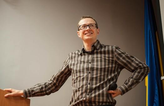 Роман Вінтонів навчав львівських журналістів дурналістиці