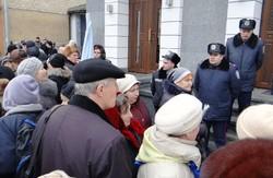 Вінниця: пікетування обласної міліції та Народне віче