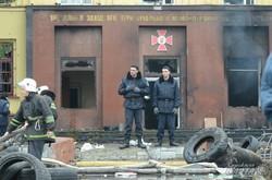 У Львові спалили частину внутрішніх військ (ФОТО)