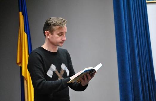 Жадан презентував нову книгу «Месопотамія» та розповів про свої враження від подій на Майдані