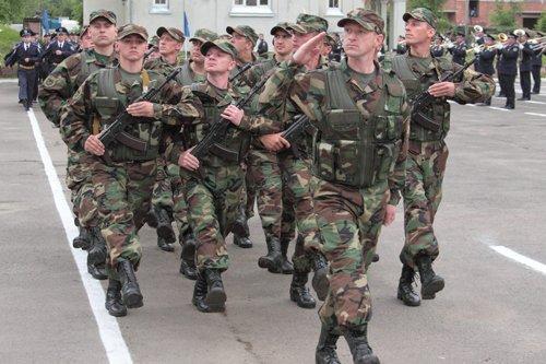 Внутрішні війська зі Львова вирушають на Східну Україну