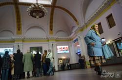 Головний хол залізничного вокзалу у Львові