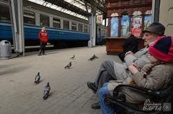 Очікуючи на потяг