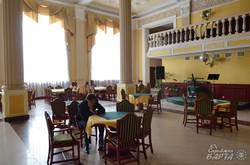 Ресторан в приміщенні вокзалу