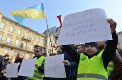 У Львові протестували проти «непогодженого громадою» начальника ДАІ  (ФОТО)