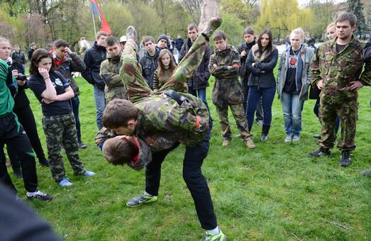 У Львова відбулася флеш-теренівка «Алярм! Гурби» (ФОТО, ВІДЕО)